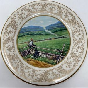 Norman Rockwell Summer Respite Collector Plate